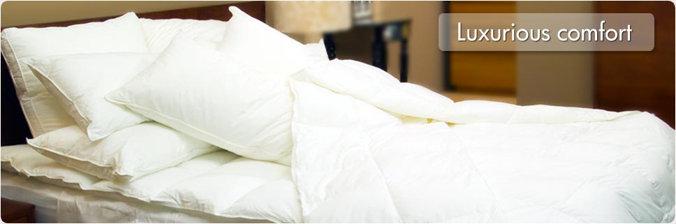 microCloud Pillows & Commercial Bedding - Luxurious comfort