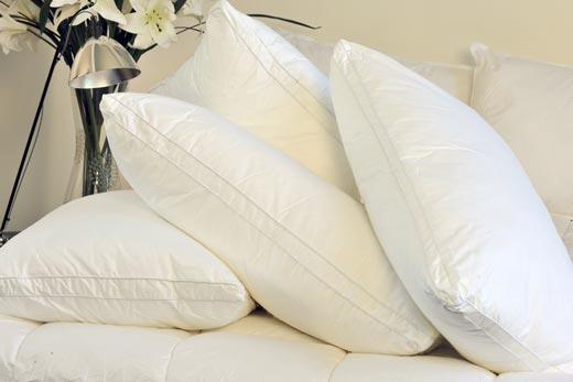 MicroCloud hotel pillows and linen