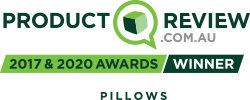 Product Review, best pillow award, 2017 & 2020