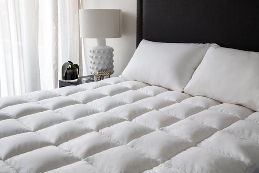 Thick and soft mattress topper